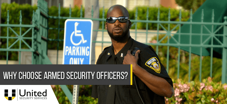 Why Choose Armed Security Officers?